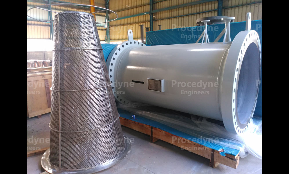 Conical Strainers Gallery Procedyne Engineers